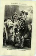 1880 TWINS di Natale per il signor quiverfull Alfred Caccia Disegno
