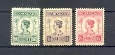 CURACAO- # 68/70 - * MH --VF