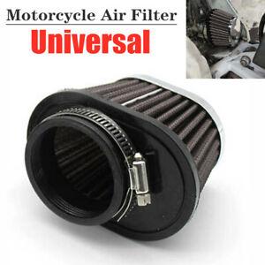 51mm Air Filter ATV Bike Carburetor Pod Cleaner Elliptical Intake Tube Universal