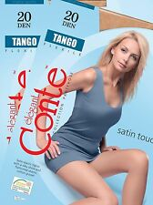 "Strumpfhose mit seidigem Effekt ""Tango Flexile 20Den"" S M L XL XXL 2 Stück Conte"