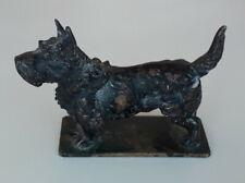 More details for scottish terrier metal car mascot scottish terrier metal hood ornament