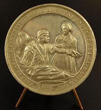 Médaille Pious Lady of Britannia : Franco German Spanish Carlist Wars 1870 medal