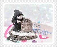 ❤️Wee Forest Folk CC-6 Ghost of Christmas Yet to Come Carol Retired 1987 CC-06❤️