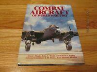 1977 COMBAT AIRCRAFT OF WORLD WAR TWO Elke Weal BRACKEN LONDON HC/DJ/IL