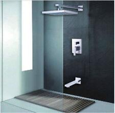 """Salle de bain 8 """", In-Wall Pomme de douche robinet de douche à effet pluie"""