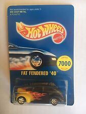 """Hot Wheels EARLY TIMES MID-WINTER ROD RUN """"Fat Fendered '40"""" 1996-mint 1 Of 7000"""