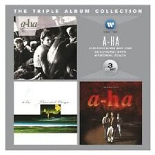 A-HA-THE TRIPLE ALBUM COLLECTION (HUNTING HIGH AND LOW/MEMORIAL BEACH) 3 CD NEU