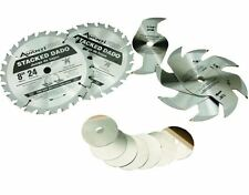 New Home Tools Durable Quality 8 in. x 24 Tooth Stacked Dado Saw Blade Set