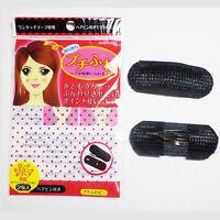 2 Pcs Set Styling Clip Bun Maker Hair Holder Twist Bump It Up Tool Accessories