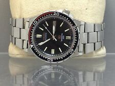 SEIKO 7123-8230 SPORTS 100 DIVERS STAINLESS STEEL MEN WATCH(FOR PARTS OR REPAIR)