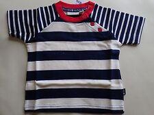 Little Boys' Nautical Stripe T-shirt Navy/Ecru, Size 6-12M