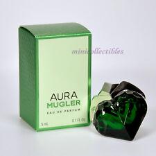 THIERRY MUGLER AURA EDP 5 ml Mini perfume Miniature Bottle