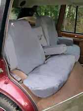 Land Rover Discovery 2 1998-2004 Siège Arrière Étanche HOUSSES de Set - Gris