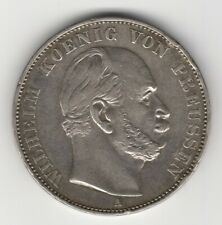 1871A PRUSSIA GERMANY  VICTORY OVER FRANCE SILVER THALER