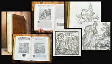 1609 72 woodcuts by Marcolini Doni I Marmi cioè ragionamenti