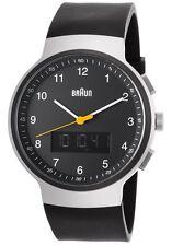 Braun Gent's Silver Classic Ana-Digi BN0159SLBKBKG Watch