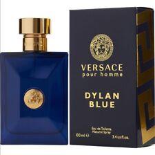 Versace Pour Homme Dylan Blue For Men Eau De Toilette 3.4 Oz 100ml men's cologne