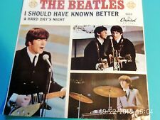 The Beatles A Hard Day's Night Vinyl 5222 - 45 with Near Mint Sleeve!