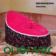 Hot Pink Baby Bean Bag Kids Seat Portable Resting Feeding Chair Madron BB17727