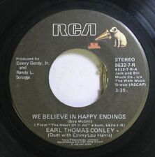 Country 45 Earl Thomas Conley - We Believe In Happy Endings / No Chance, No Danc