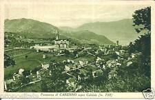 lo 044 1940 Carenno (Lecco) Panorama sopra Calolzio -viagg.FP Ediz.Brini Carenno