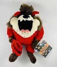 2000 Nwt Warner Brothers Bean Bag Halloween Devilish Taz Retired