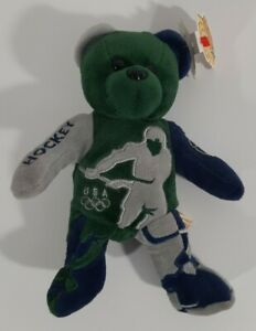 Team Ring Bear Olympic Field Hockey Plush Toy- NEW
