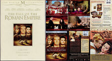 DVD 3-Disc Box Set FALL OF THE ROMAN EMPIRE Sophia Loren WS R1 SE epic OOP NEW