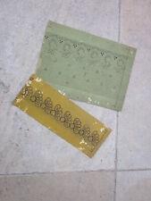 2 cartons de dentelle ancienne aux fuseaux