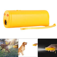 Stop Dog Barking Ultrasonic Anti Bark Control Device Outdoor Silencer Trainer US