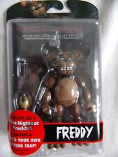 FNAF FREDDY - Five Nights at Freddy's Action Figure with SPRING TRAP RIGHT ARM