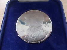 1981 CHARLES & DIANA ROYAL WEDDING SOLID SILVER CASED TOWER MINT MEDALLION