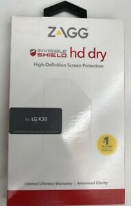 Zagg Invisible Shield HD Film Screen Protector for LG K30 / Harmony 2 - Clear