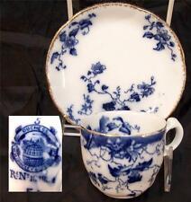 Grindley Atlas Flow Blue Demitasse Demi tasse Cup and Saucer Set Multiples Avail