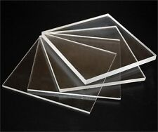 1 x Sheet Of Clear Solid Polycarbonate, Perspex 2mm thick, 100mm x 500mm
