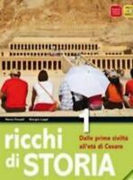 Ricchi di storia vol.1 B.Mondadori PEARSON Scuola, Fossati/Luppi, 9788842435174