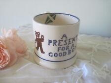 "Early Vintage Emma Bridgewater Children's ""Present for a Good Boy"" Mug c1995"
