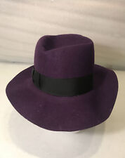 1989 JOKER FEDORA STYLE HAT BATMAN MOVIE MEDIUM M PURPLE JACK NICHOLSON REPLICA