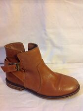 Girls Next Brown Leather Boots Size 13