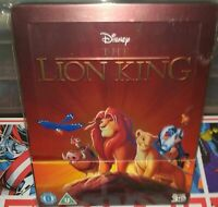 [Blu-ray] Le roi Lion (The Lion King) Steelbook - VF NON INCLUSE - RARE - TBE
