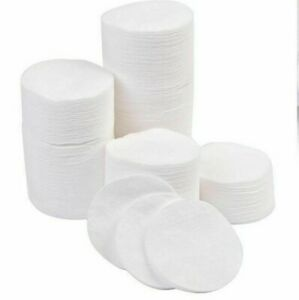 120 X Cotton Wool Round Face Pads Piece Soft Absorbent Beauty Health Care Makeup