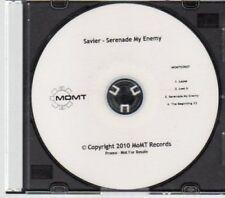 (AU601) Savier, Serenade My Enemy - DJ CD