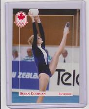 RARE 1992 CANADA SUMMER OLYMPIC SUSAN CUSHMAN GYMNASTICS ROOKIE CARD #94