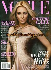 Australian Vogue 8/07,Cate Blanchett,August 2007,NEW