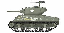 Tamiya Henglong Taigen Mato Sherman M4A3E2 Jumbo - 1/16 Scale Decals - NEW!!!
