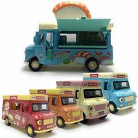 1:32 Eiswagen Sushi Food Truck Die Cast Modellauto Auto Spielzeug Model Sammlung