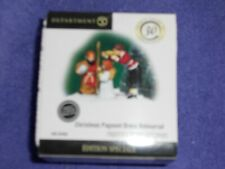 Dept 56 Christmas In The City Accessory Christmas Pageant Dress Rehearsal Nib
