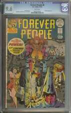 FOREVER PEOPLE #8 CGC 9.6 WHITE PAGES