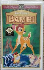 Walt Disney Masterpiece Collection VHS BAMBI New Sealed Movie
