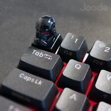 Star Wars New Storm Trooper LED Keycap Handmade Resin Custom Artisan